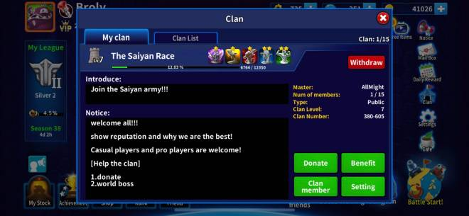GunboundM: Find a clan and Friends - The saiyan army is recruiting now!!! image 2