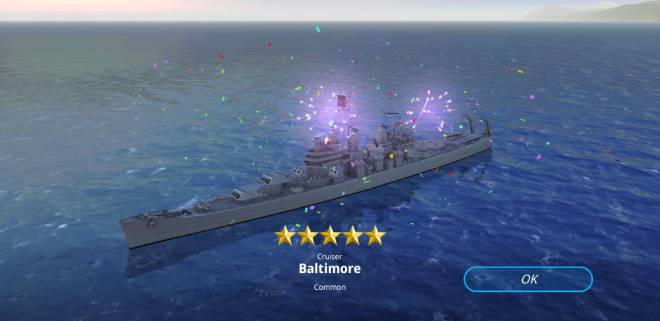 Warship Fleet Command: General - 5 stars from my t6 blueprints  image 3