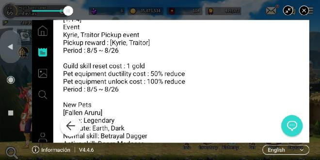 Taming Master: General - please active the equipment unlock event image 2
