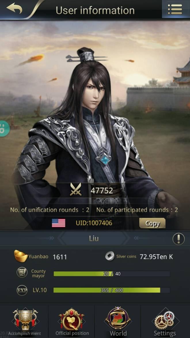 Three Kingdoms RESIZING: Join & Greeting Board - Liu/ch10/1007406 image 2