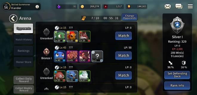 Taming Master: Bug report -  No  Arena Promotional Reward  image 2