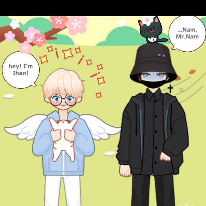 MYIDOL_GLOBAL_COMUUNITY: FREE_BOARD - CEO and his assistant!  image 2