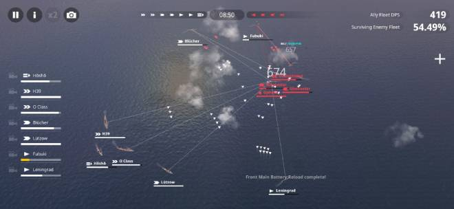Warship Fleet Command: General - Torpedoes are great image 2