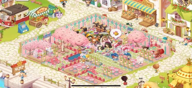 萌萌餐廳: [結束] 櫻花主題最佳餐廳裝飾 - ID:波妮公主 image 2