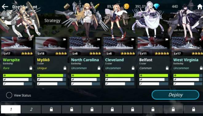 Warship Fleet Command: General - Mis waifus xd image 2