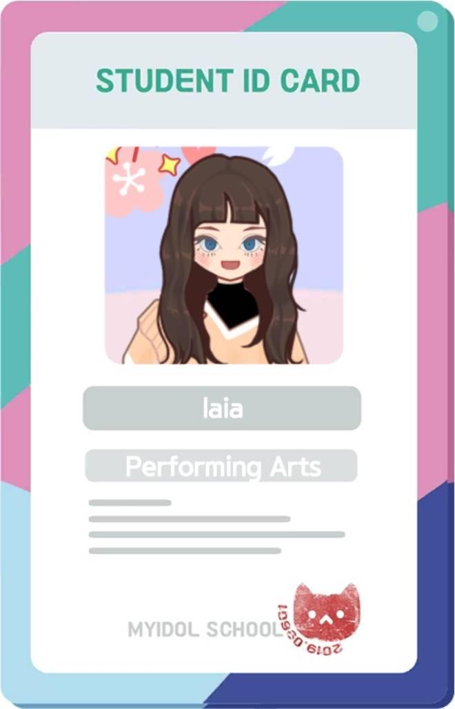 MYIDOL_GLOBAL_COMUUNITY: FREE_BOARD - Idol girl cards image 2