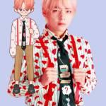 v (Kim taehyung) idol mv outfit