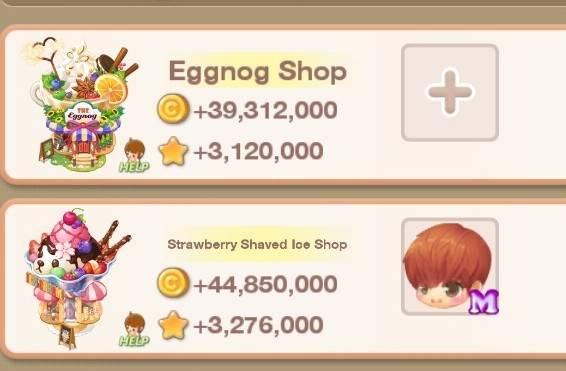 My Secret Bistro: ● Open Forum - LF Exchange PT Strawberry shaved ice & Eggnog shop image 2