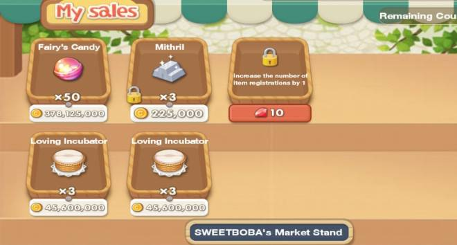My Secret Bistro: ● Open Forum - FREE MITHRILS for purchasing 1 set of candies image 2