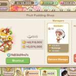 Exchange same fruit pudding using same manager  IGN : Twinstars