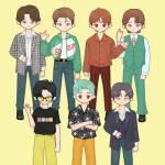 BTS Dynamite M/V outfits