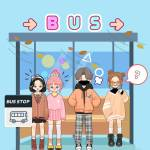 What would it be like to stand at the same bus stop as an idol?