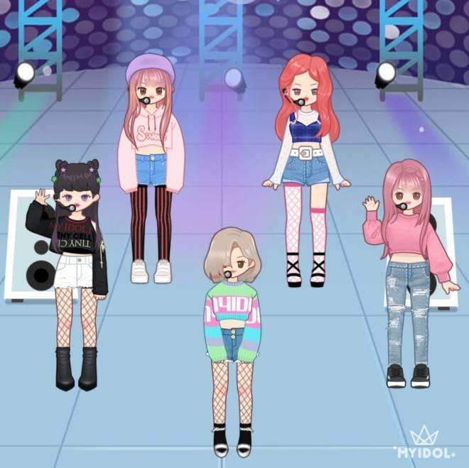 MYIDOL_GLOBAL_COMUUNITY: MYIDOL_PHOTO - MY OWN K-POP GIRL BAND image 2