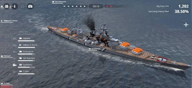 Warship Fleet Command: General - Battleship  image 2