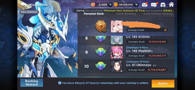 GrandChase - GLOBAL EN: Suggestions & Bug Reporting - Cheater in Wb image 2
