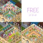 Free and mutual friend floors