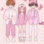 ♡ PINK TRIO ♡