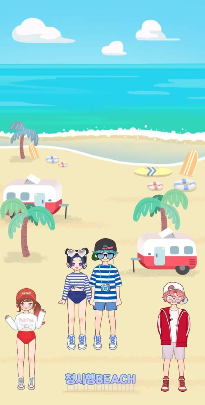 MYIDOL_GLOBAL_COMUUNITY: FREE_BOARD - BEACH image 3