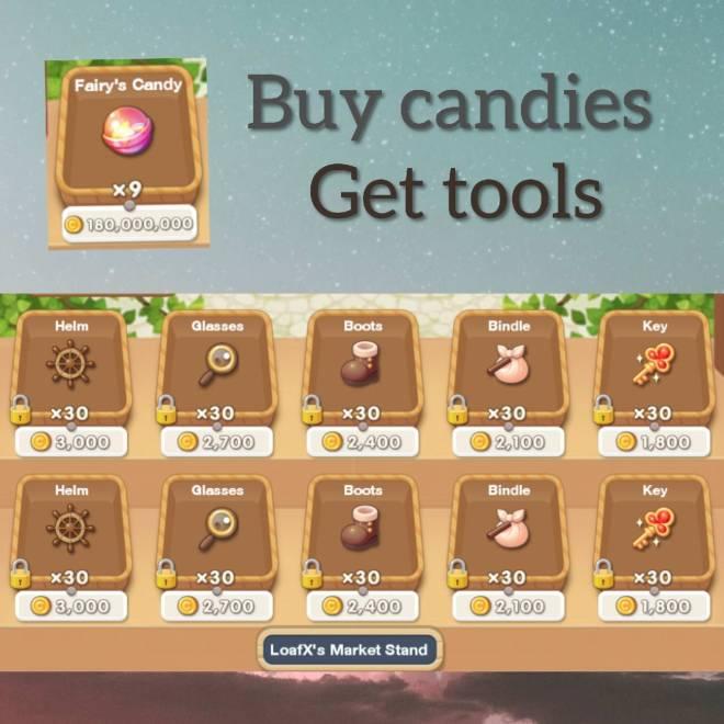 My Secret Bistro: ● Open Forum - CLOSED✖ Buy candies, Get tools image 2