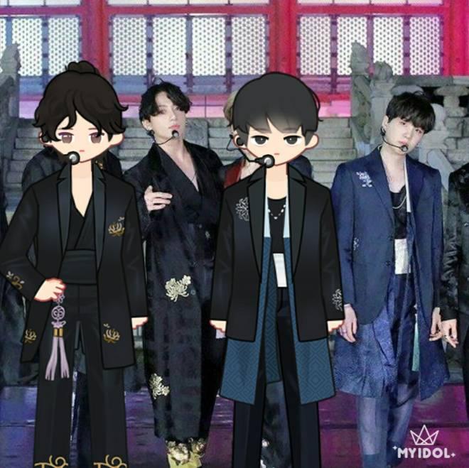MYIDOL_GLOBAL_COMUUNITY: MYIDOL_PHOTO - BTS K-POP IDOL 방탄소년단 JUNGKOOK & SUGA image 2