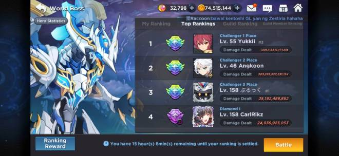 GrandChase - GLOBAL EN: Suggestions & Bug Reporting - cheaters image 2