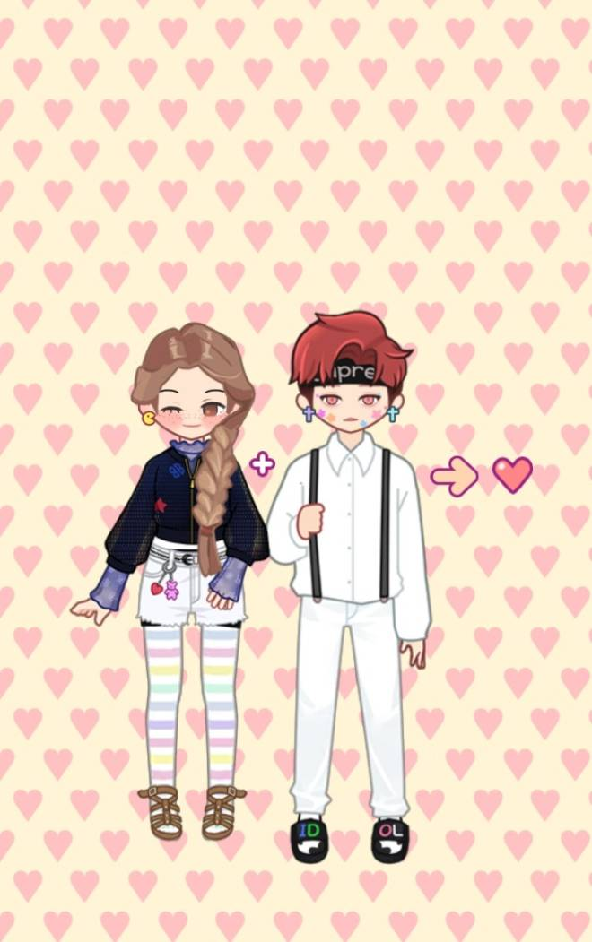 MYIDOL_GLOBAL_COMUUNITY: MYIDOL_PHOTO - They are in a relationship image 2