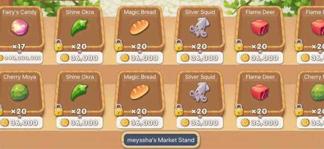 My Secret Bistro: ● Open Forum - buy candy to get all locked item image 2